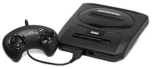 Sega - Sega Genesis, second North American version.