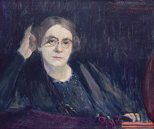 Ida Gerhardi - Self-portrait (1905)