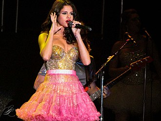Selena Gomez - Gomez performing in 2011