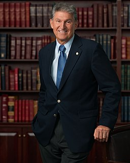 Joe Manchin US Senator from West Virginia