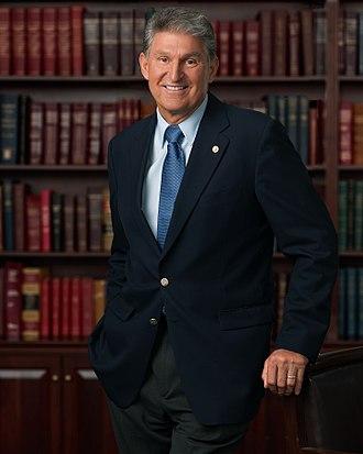 Joe Manchin - Image: Senator Manchin