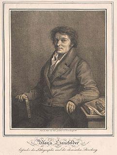 image of Alois Senefelder from wikipedia