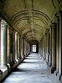 Senlis (60), ancienne abbaye Saint-Vincent, cloître, galerie nord.jpg