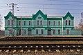 Serebryanye Prudy (MosOblast) 03-2014 img01-railway station.jpg