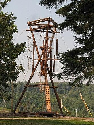 Seven Springs Mountain Resort - Image: Seven Springs climbing (247238669)