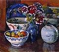 Severin Grande - Oppstilling med krukker og blomster - Nasjonalmuseet - NG.M.04246.jpg