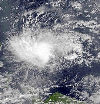 1991 Pacific typhoon season - Image: Sharon Mar 10 1991 0521