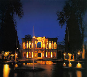 Persian gardens - Shazdeh Garden is one of the largest gardens of Kerman Province.