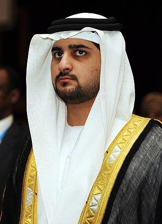 Maktoum bin Mohammed Al Maktoum - Sheikh Maktoum bin Mohammed bin Rashid Al Maktoum in October 2011
