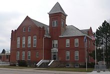 Sheridan County, Nebraska courthouse from NW 2.jpg