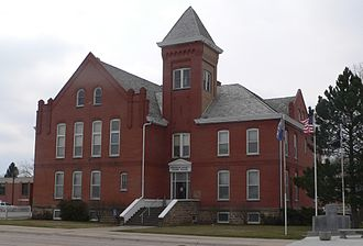 Sheridan County, Nebraska - Image: Sheridan County, Nebraska courthouse from NW 2