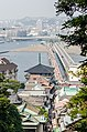 Shopping Street on Enoshima Island and Bridges 20130809.jpg