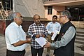 Shrikant Pathak And Manash Bagchi Discussing With Shantanu Ganguly - NCSM - Kolkata 2017-12-13 6370.JPG