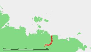 Alazeya River - Location of the Alazeya River in Far-East Siberia.