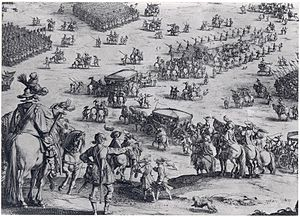 Eighty Years' War - Siege of Breda by Jacques Callot
