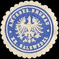 Siegelmarke Amtsbezirk Brunau - Kreis Salzwedel W0217562.jpg