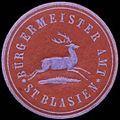 Siegelmarke Bürgermeister Amt St. Blasien W0310017.jpg
