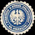 Siegelmarke Direction der Königlichen Strafanstalt - Gr. Strehlitz W0214205.jpg