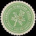 Siegelmarke Gemeinde-Vorstand Jabel Kreis Ost-Prignitz W0383814.jpg