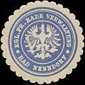Siegelmarke Kgl. Pr. Bade Verwaltung Bad Nenndorf W0334768.jpg
