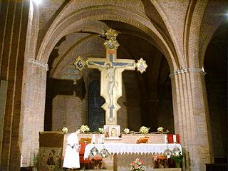 Crucifix de la basilique San Domenico de Sienne