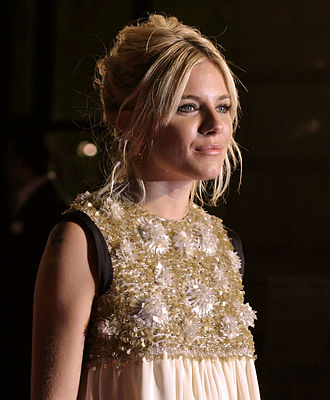 Sienna Miller - Miller at the 2007 London premiere for Factory Girl