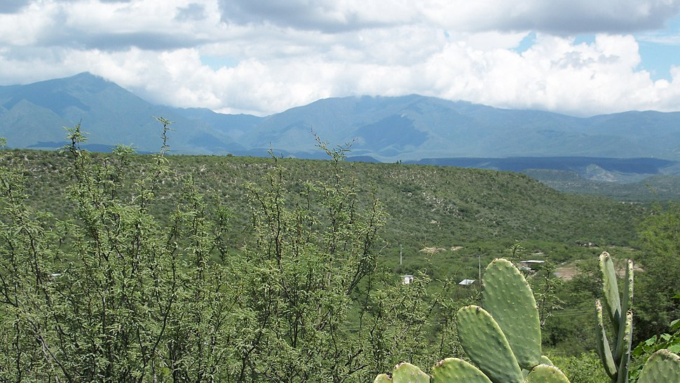 Sierra Madre Oriental - La Independencia Jaumave, Tam.