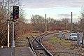 Signal, Earlestown railway station (geograph 3818785).jpg