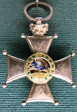 Silver Cross of Virtutu Militari Order