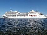 Silver Spirit at Pier 24 in Port of Tallinn 8 August 2018.jpg