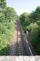 Single-track railway line at Battramsley - geograph.org.uk - 1452353.jpg
