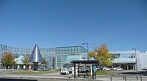 Shinjō Station - Shinjō Station West Entrance in October 2010