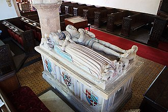 Moor Hayes - Image: Sir Matthew Stawell Late 14th C Cothelstone Church Somerset