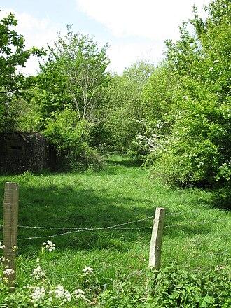 Salehurst - Image: Site of Salehurst Halt