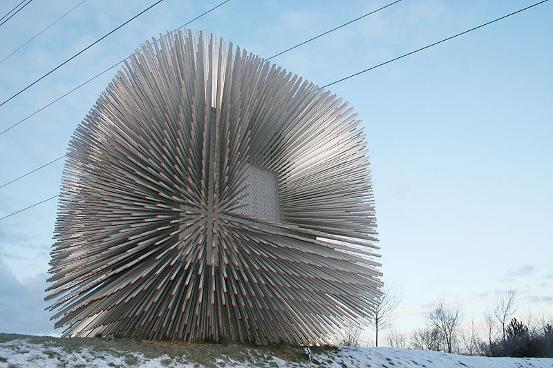 The Seed Cathedral Public Realm
