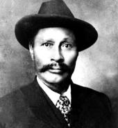 Фотография Скукума Джима, одного из первооткрывателей, 1898 год.