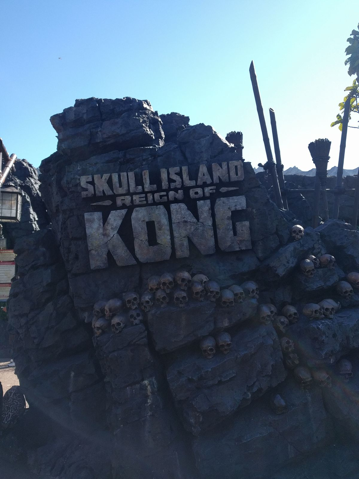 king kong skull island ride wiki