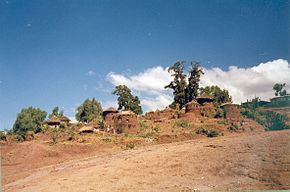 imagine din Lalibela