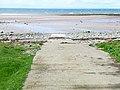 Slipway just north of Portwilliam - geograph.org.uk - 319875.jpg