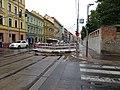 Smíchov, Plzeňská, rekonstrukce TT, od Erbenovy.jpg