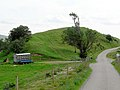 Small hill by roadside - geograph.org.uk - 490430.jpg