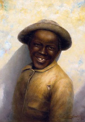 Jefferson David Chalfant - Smiling boy (1886)