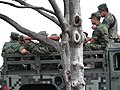 Soldiers on Truck - Chapultepec Park - Mexico City - Mexico (15399710776).jpg