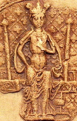 Sophia of Denmark - Image: Sophia of Sweden (1260) seal image 1905