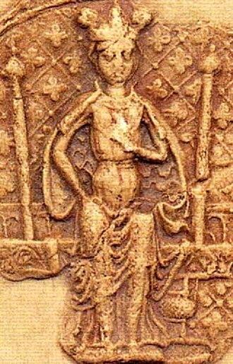 Sophia of Denmark - Image: Sophia of Sweden (1260) seal image 1905