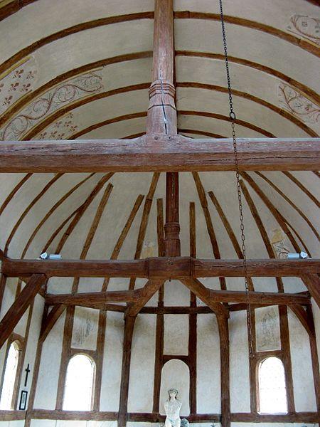 Soulaines-Dhuys: intérieur de la chapelle St-Jean