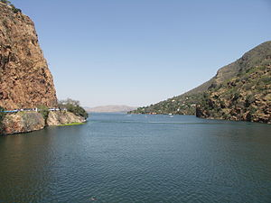 Crocodile River (Limpopo) - View of the Hartbeespoort Dam