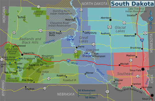 South Dakota  Travel Guide At Wikivoyage