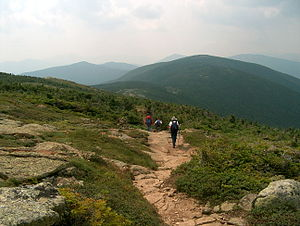 Presidential Range - The Appalachian Trail in the southern Presidential Range