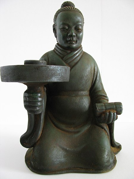 File:Southern Dynasty (420-589 AD)-Candle Stick Holder.JPG